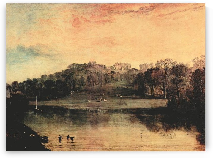 Somer-Hill near Turnbridge by Joseph Mallord Turner by Joseph Mallord Turner