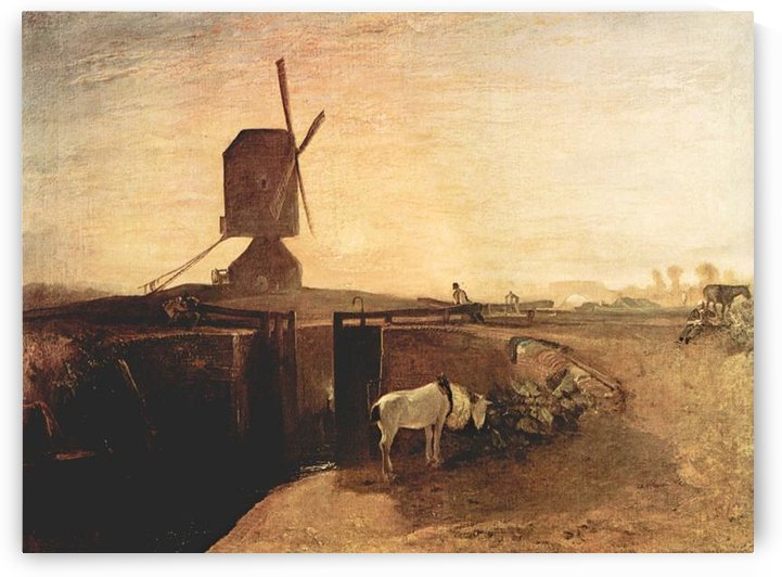 Southall Mill by Joseph Mallord Turner by Joseph Mallord Turner