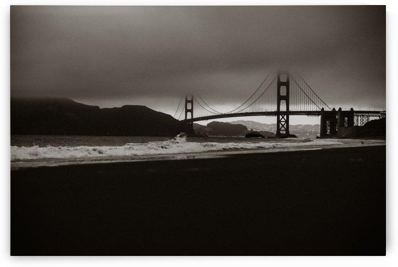 B&W Golden Gate by StephanieAllard