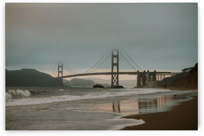 Golden Gate in the smog by StephanieAllard