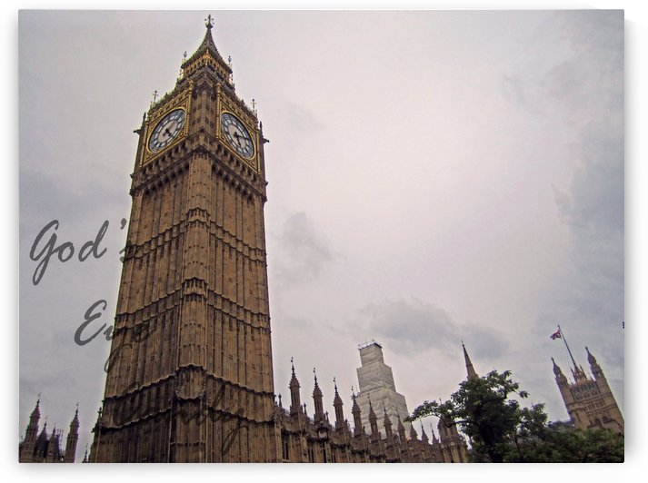Big Ben Tower by Kaitlyn Labute
