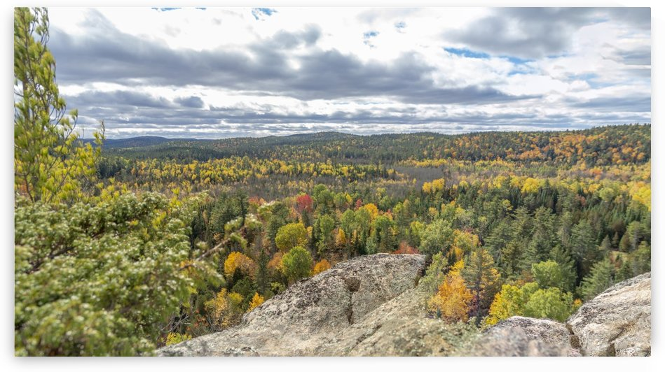 Eagles Nest Panorama 2 by Bob Corson