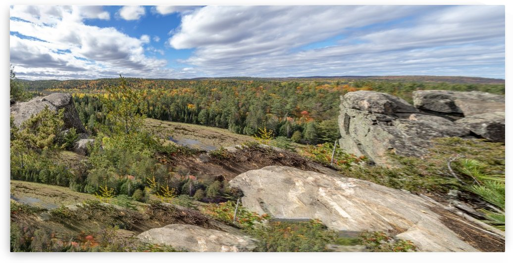 Eagles  Nest Panorama 3b by Bob Corson