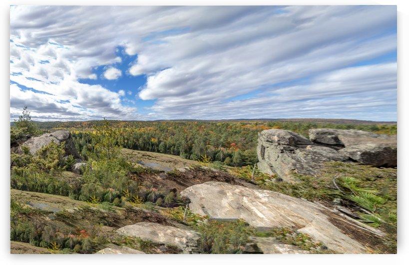 Eagles  Nest Panorama 3 by Bob Corson