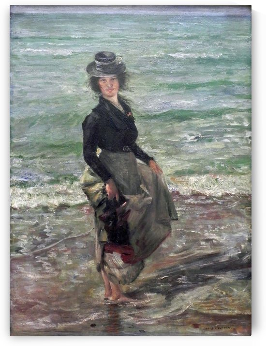 Paddel-Petermannchen by Lovis Corinth