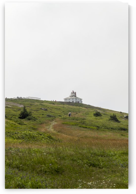 Original Cape Spear Lightkeepers house and light tower built in 1836  4 by Bob Corson