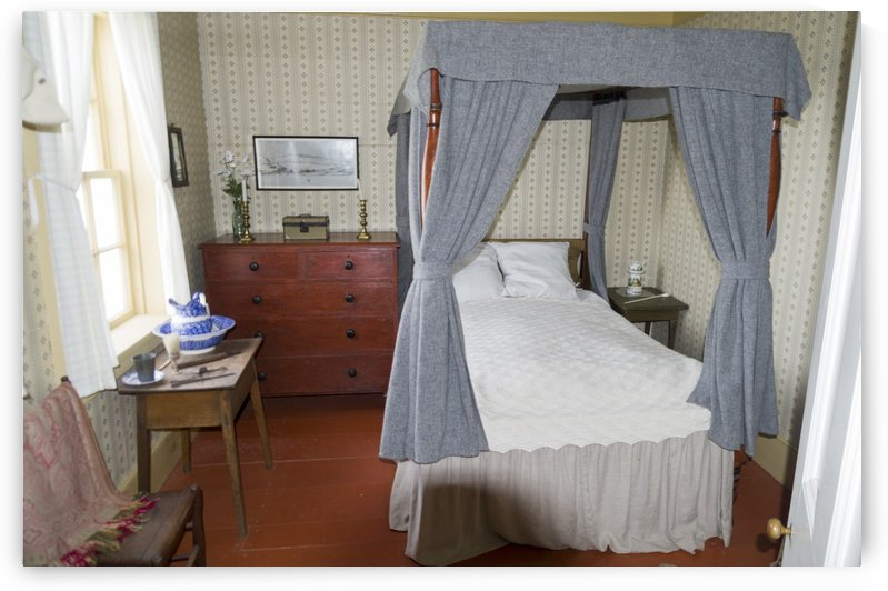 Bedroom in the Lightkeepers House by Bob Corson