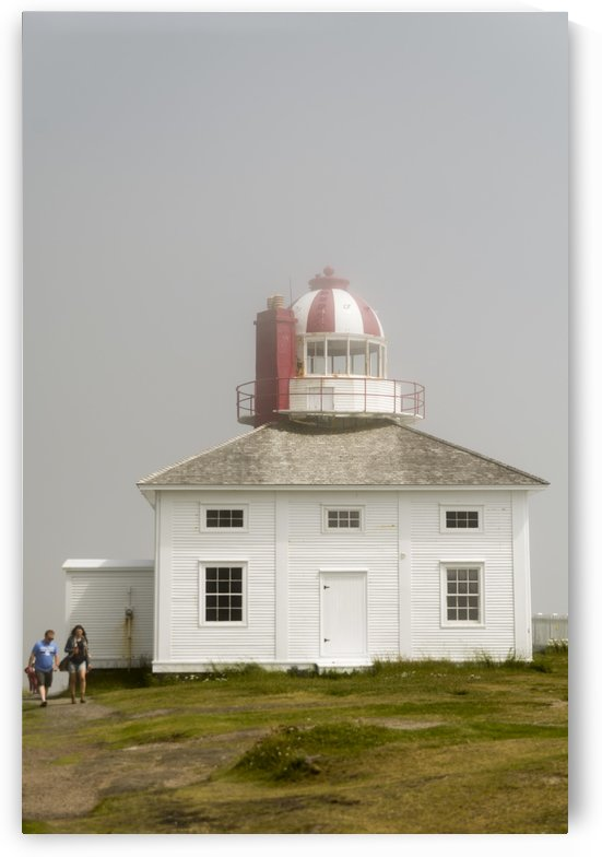 Original Cape Spear Lightkeepers house and light tower built in 1836 2 by Bob Corson