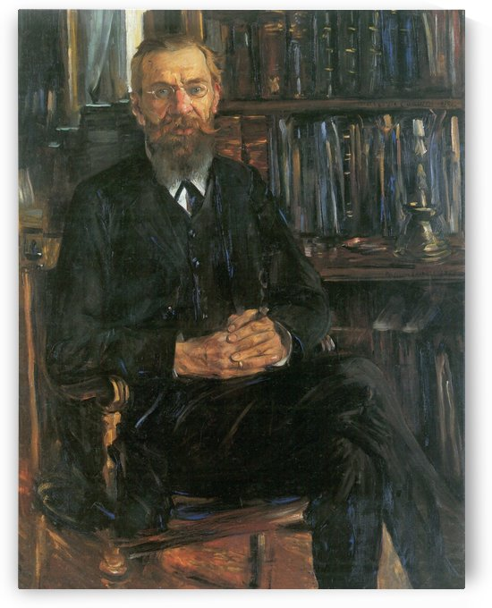 Eduard Meyer by Lovis Corinth
