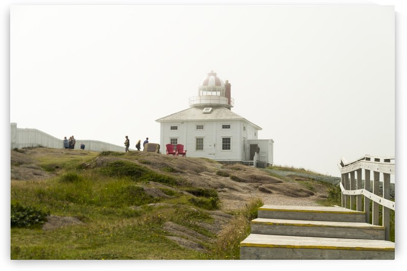 Original Cape Spear Lightkeepers house and light tower built in 1836 1 by Bob Corson