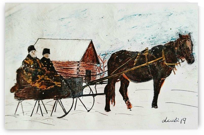 Sleigh Ride 1896 by djjf