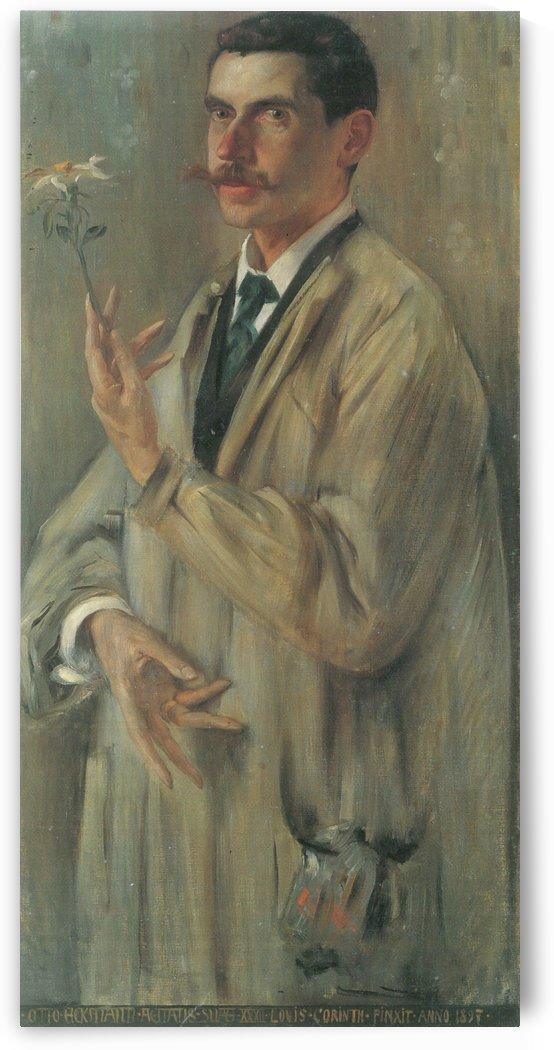 Otto eckmann by Lovis Corinth