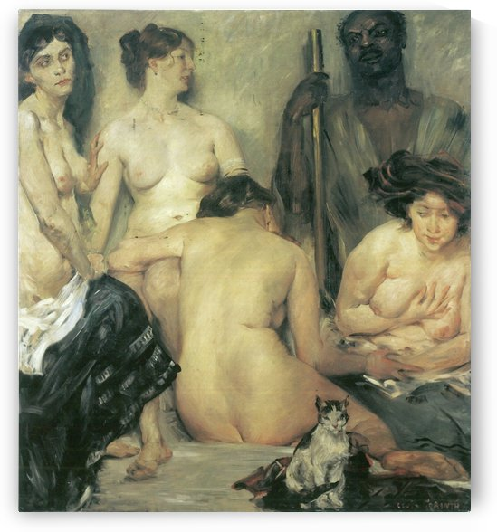 Der Harem by Lovis Corinth