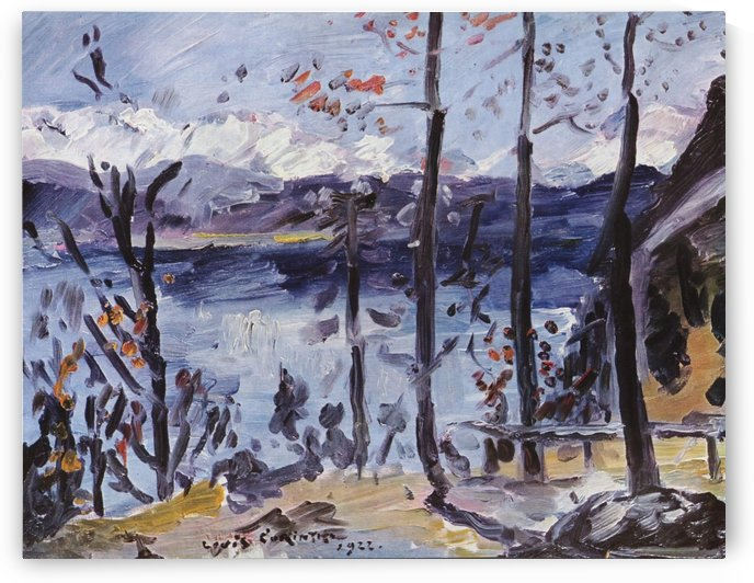 Ostern am Walchensee by Lovis Corinth