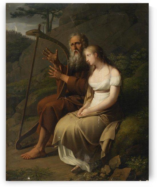 Krafft Ossian und Malvina by Johann Peter Krafft