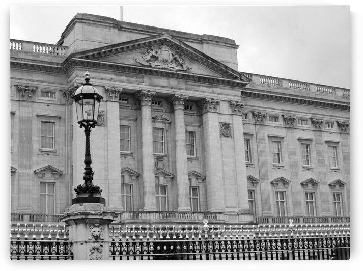 Buckingham Palace B&W by Gods Eye Candy
