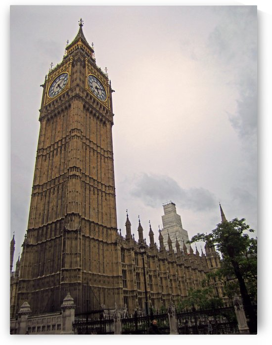 Big Ben Tower by Gods Eye Candy