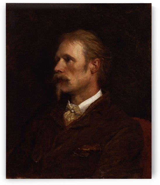 Walter Crane by William Rothenstein