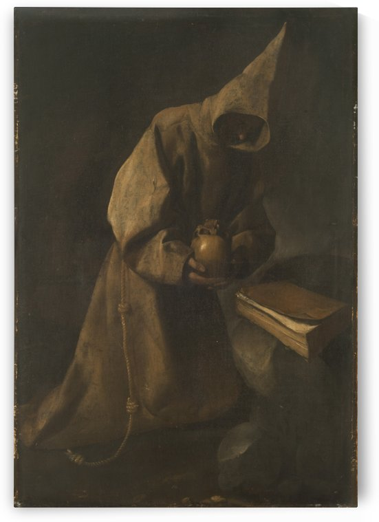 Monk by William Rothenstein