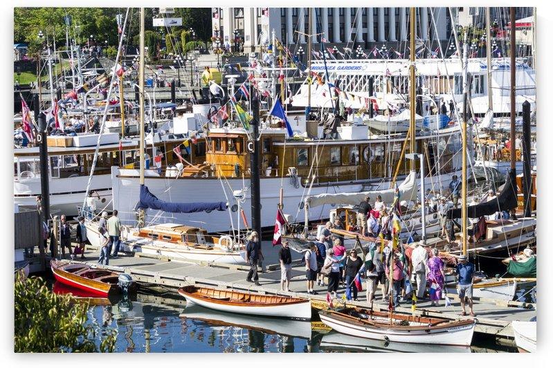 Victoria British Columbia CLassic Boat show 4 by Bob Corson