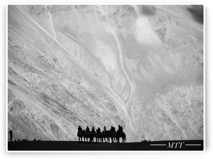 Travellers in Ladakh by MTT