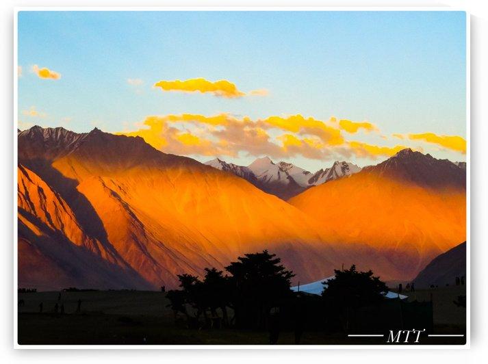 Ladakh Range by MTT