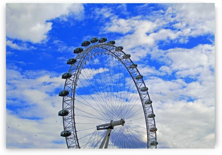 The Great Wheel of London by Gods Eye Candy