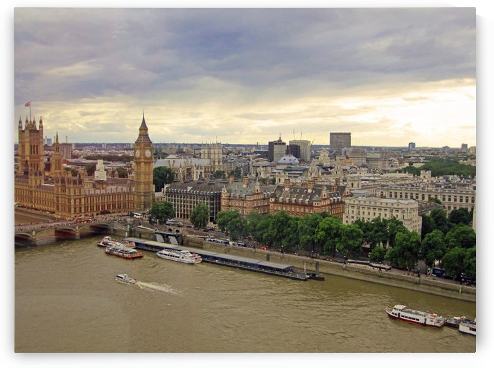Buildings of London England by Gods Eye Candy