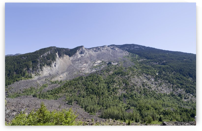 HopeBritish Columbia Landslide 9 by Bob Corson