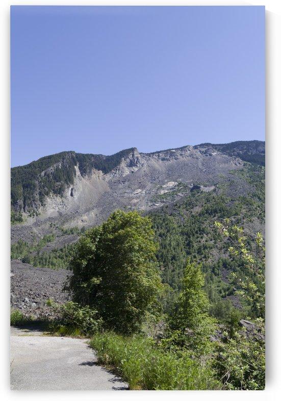 HopeBritish Columbia Landslide 6 by Bob Corson