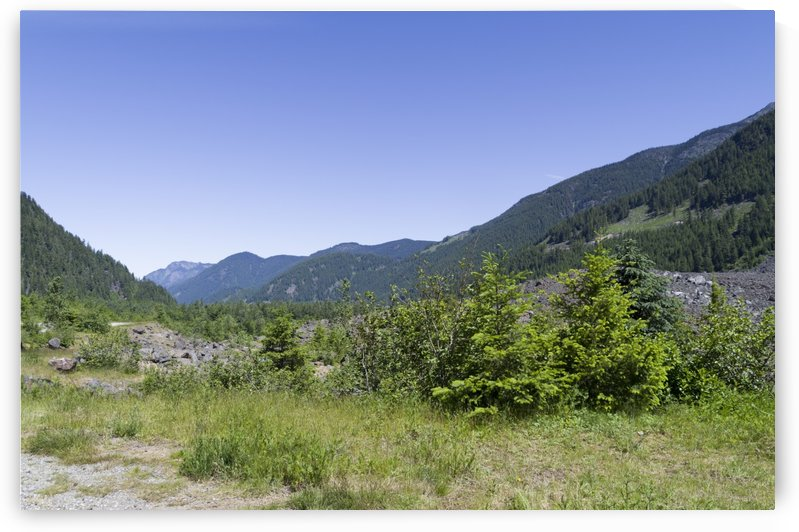 HopeBritish Columbia Landslide 4 by Bob Corson