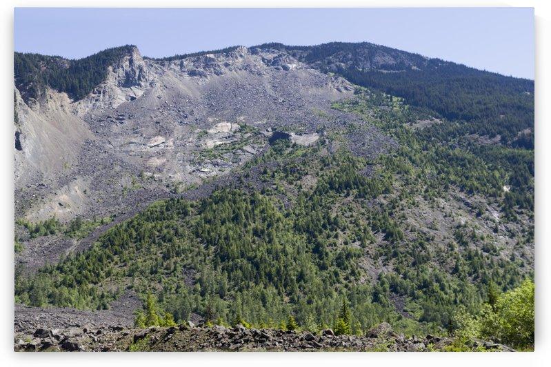 HopeBritish Columbia Landslide 3 by Bob Corson