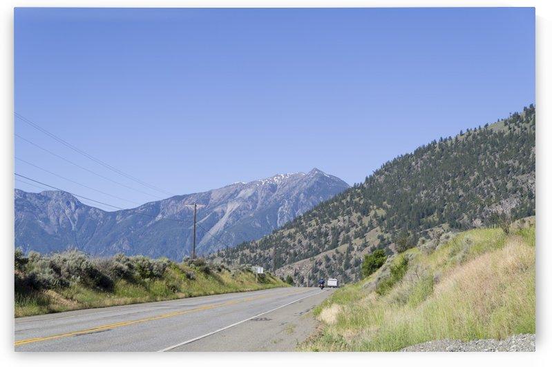 HopeBritish Columbia Landslide 2 by Bob Corson
