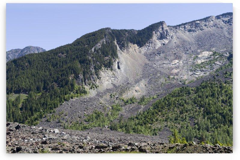 HopeBritish Columbia Landslide 1 by Bob Corson