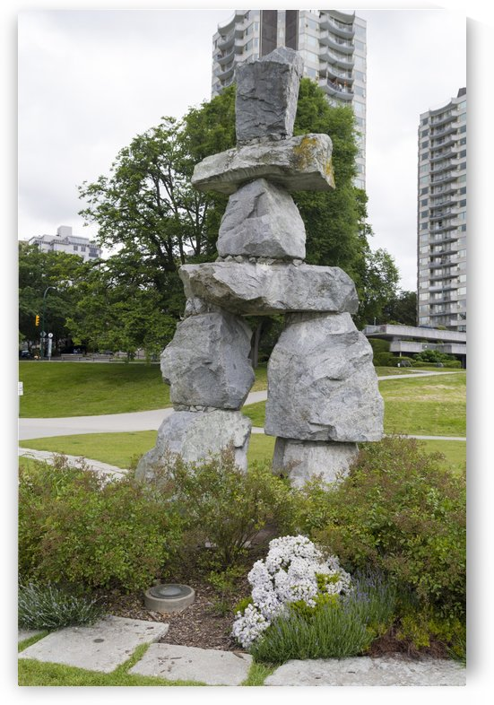 Large Inukshuk from Rankin Inlet by Bob Corson