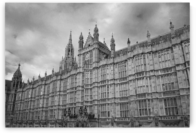Grand Westminster Abbey B&W by Gods Eye Candy