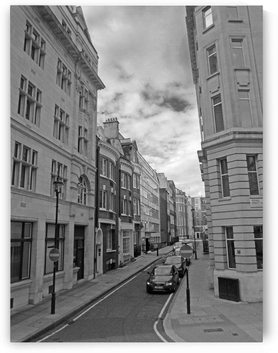 Streets and Buildings B&W by Gods Eye Candy