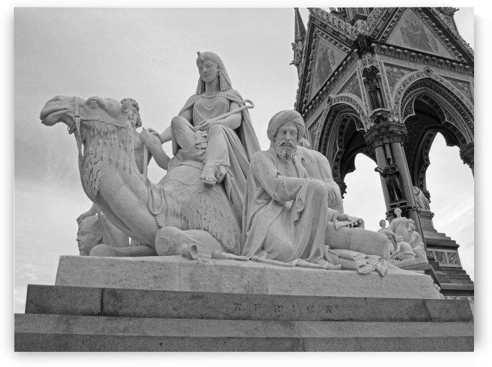 Albert Memorial B&W by Gods Eye Candy