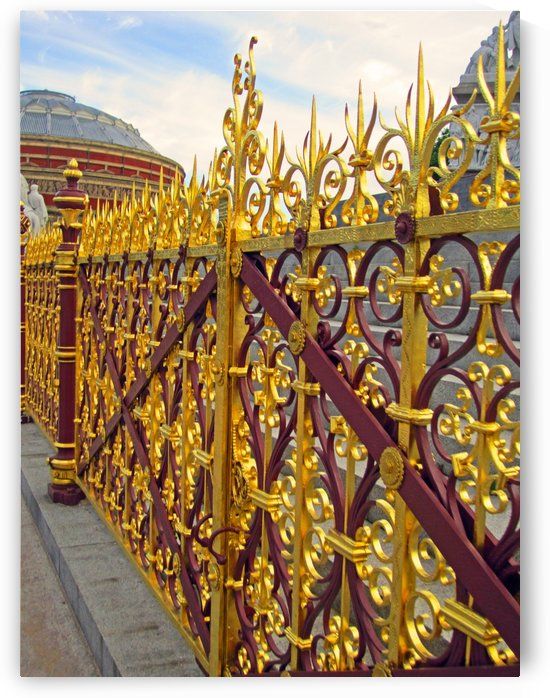 Gates to the Royal Albert Hall by Gods Eye Candy