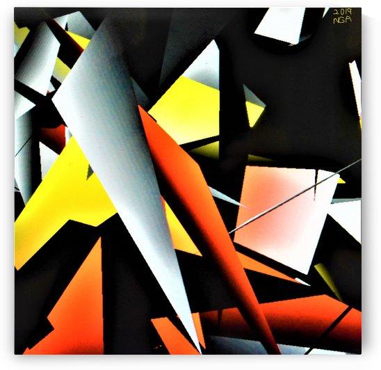 More Shapes -  by Neil Gairn Adams  by Neil Gairn Adams