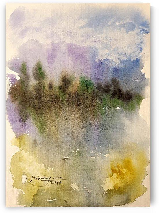 Watercolor by JAMALEDDIN TOOMAJNIA