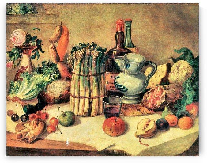 Still Life by Giovanni Segantini by Giovanni Segantini