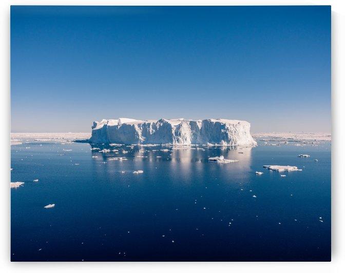 Iceberg Wide by Peter Kaple