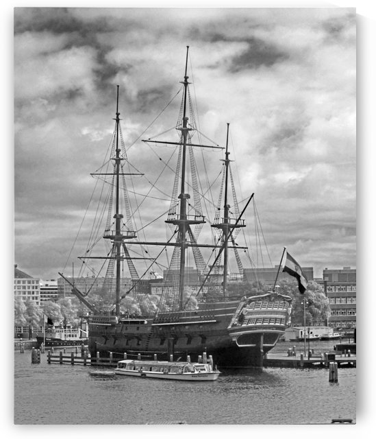 Grand Ship of Amsterdam by Gods Eye Candy
