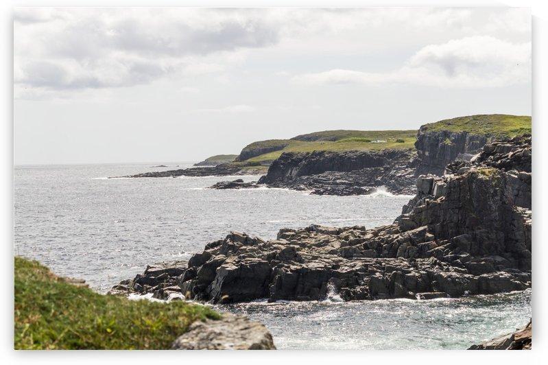 Elliston Newfoundland Coastline 15 by Bob Corson