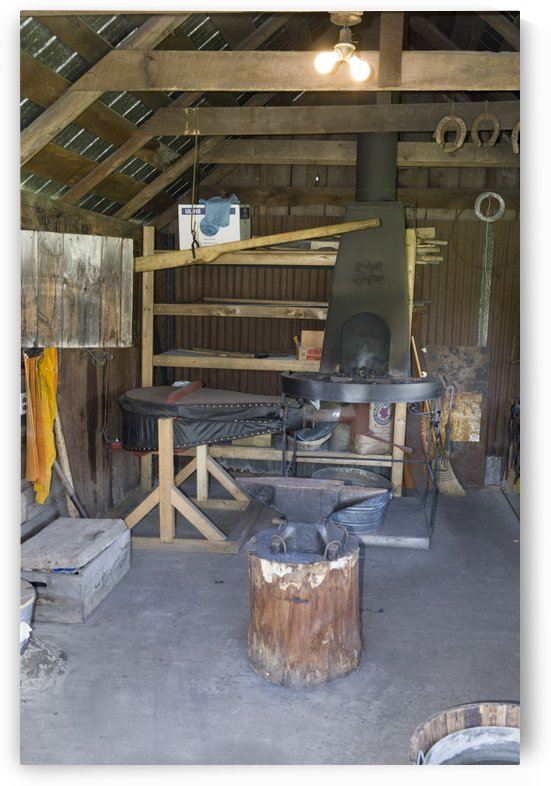 Blacksmith Shop 2 by Bob Corson