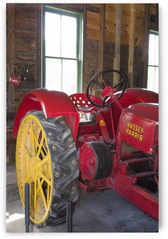 Massey Harris Tractor 2 by Bob Corson
