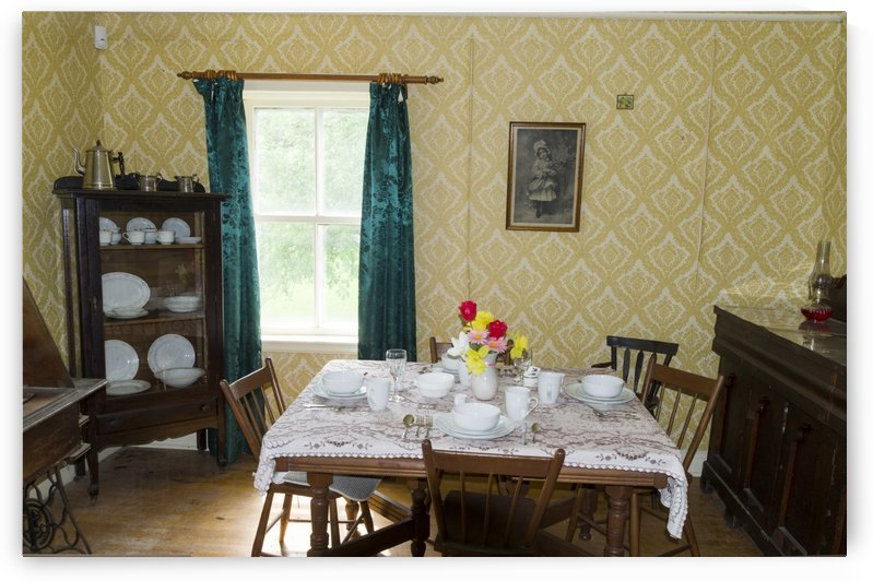 1920s dining room by Bob Corson