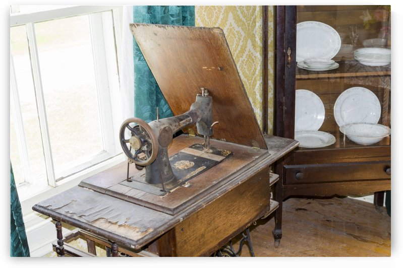 Antique petal operated Sewing Machine by Bob Corson