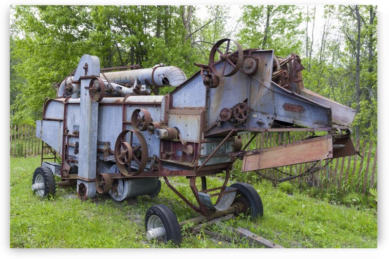 Forano Thresher by Bob Corson